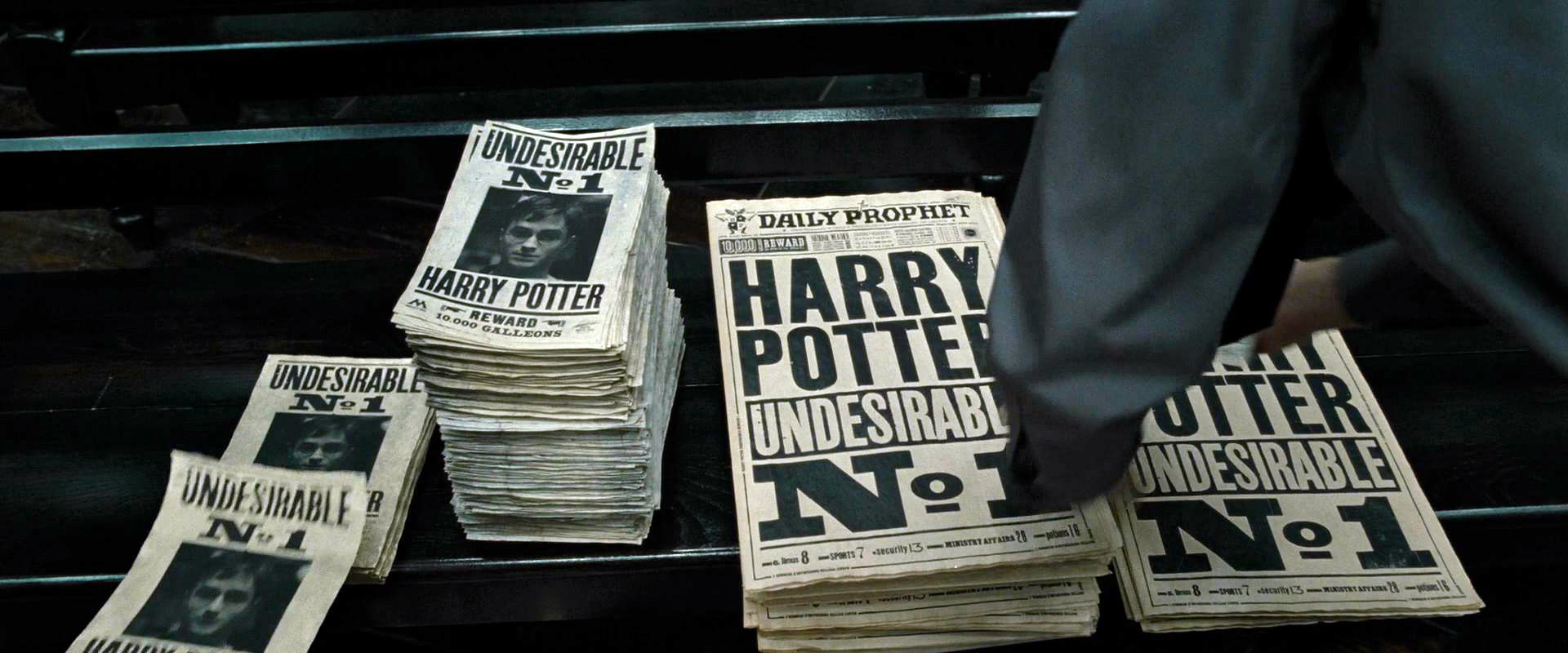 DH1_Ministry_of_Magic_Undesirable_No._1_poster