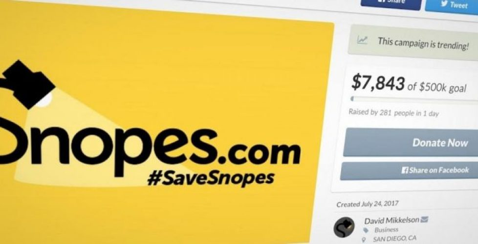 Snopes Checks Its Facts and Battles for Survival