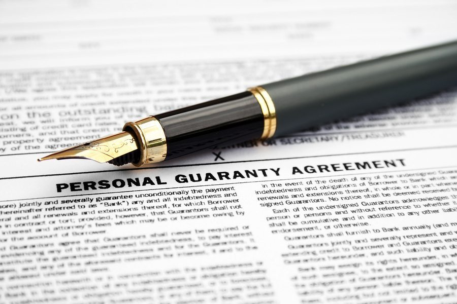 From the Dean Sperling Case Files: The Personal Guaranty