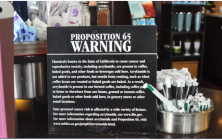 Starbucks Temporarily Spared from Cancer Warning Sign Saga