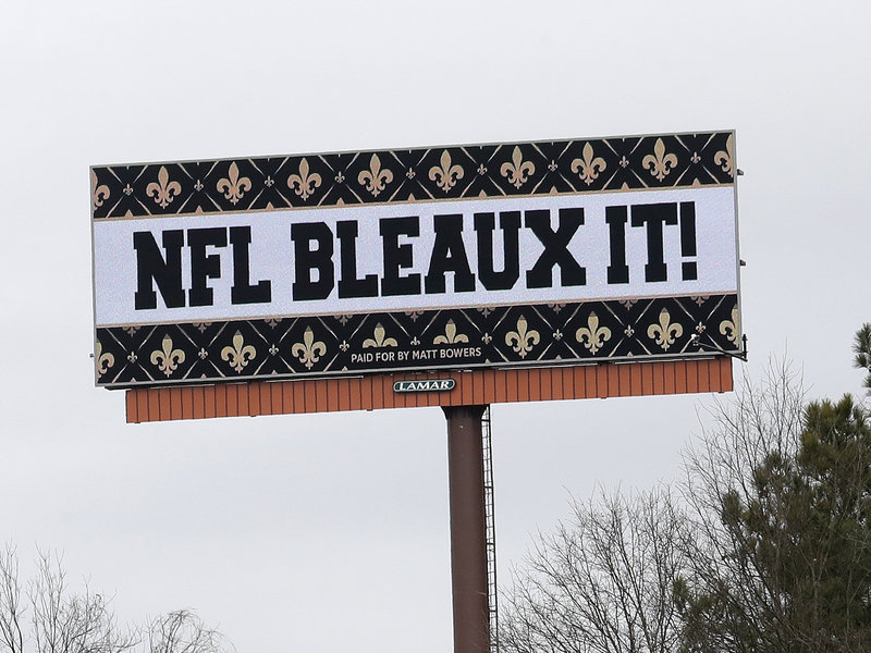 Saints Fans File Lawsuit Over Controversial Penalty in NFC Championship Game