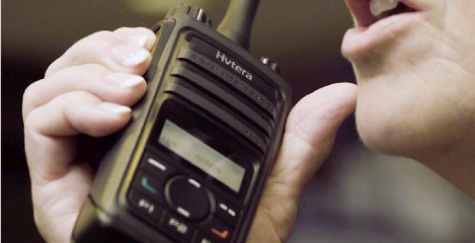 Two-way radio technology used by utility workers in noisy legal dispute